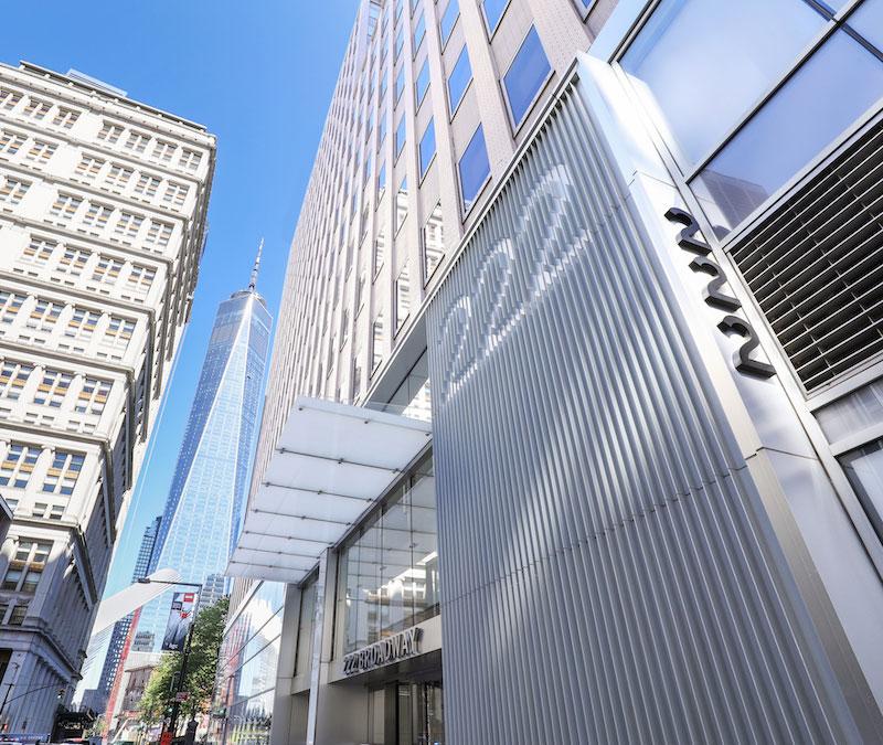 Building Entrance - 222 Broadway