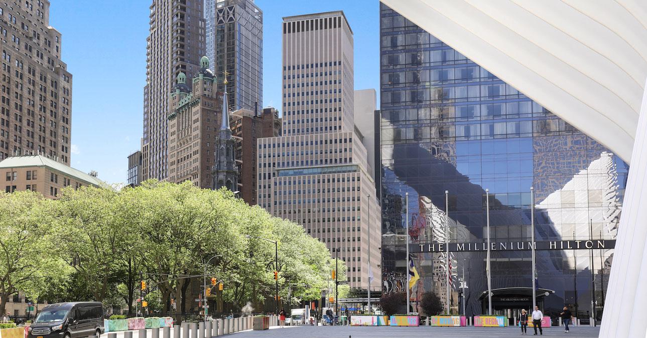 milenium hilton - 222 Broadway Office Building