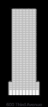 600 Third Avenue landamark icon diagram - 222 Broadway