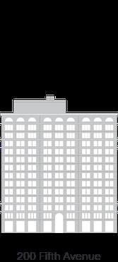 200 Fifth Avenue landmark diagram - 222 Broadway