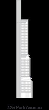 425 Park Avenue landmark icon diagram - 222 Broadway