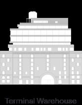 Terminal Warehouse building icon - 222 Broadway