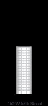 142 W 57th Street building icon - 222 Broadway