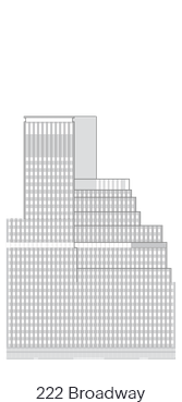 A diagram of 222 Broadway Office Building