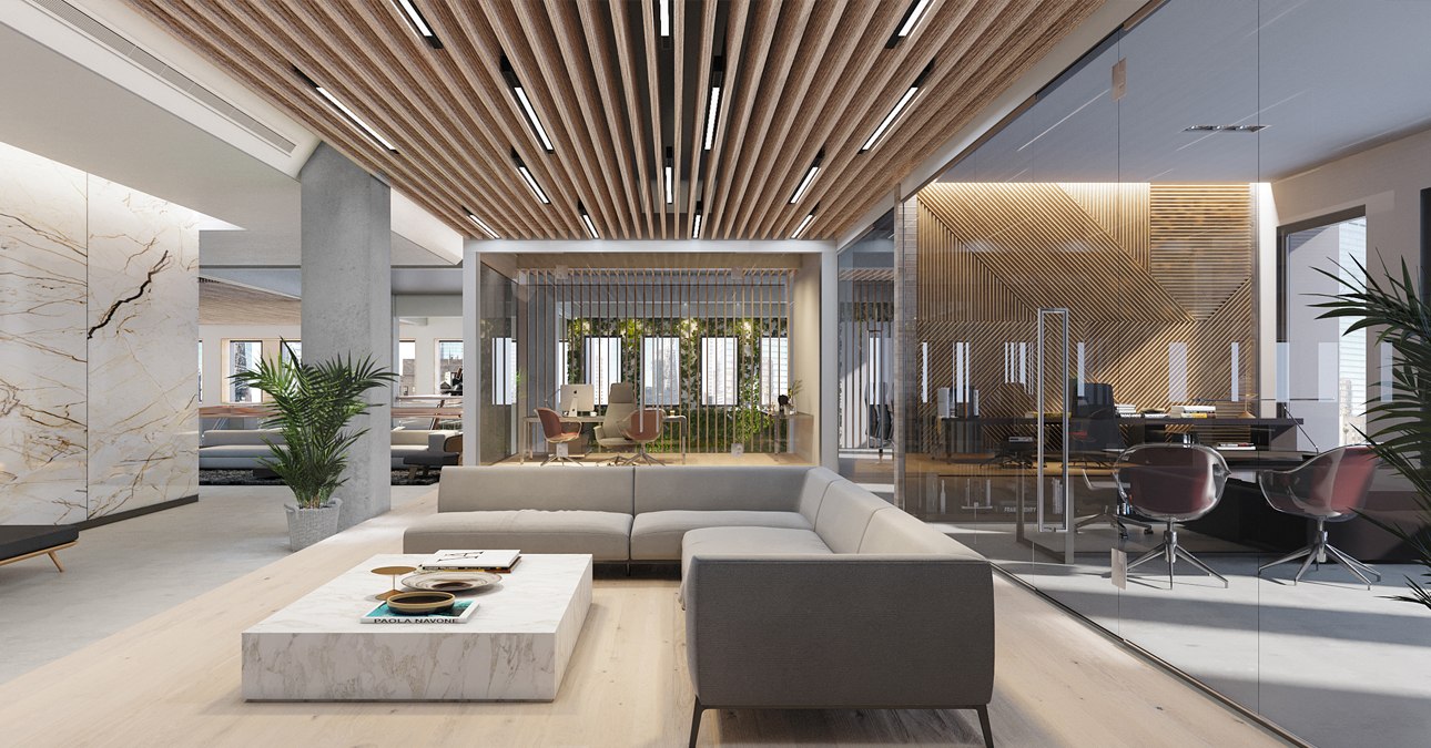 Executive offices and leadership meeting spaces - 222 Broadway